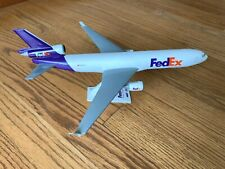 Diecast Fedex Md-11 Desk Display Model Federal Express 1:200 Airplane - N601Fe