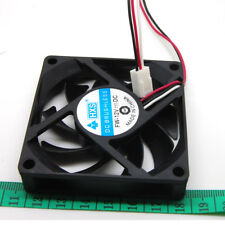 70mm Computer PC Desktop Fan Cooling Cooler Quiet fans 7cm 3pin power jack sx