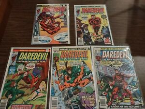 DAREDEVIL Lot of 5   (issues from #140 to 154)