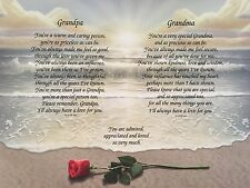 Gift for Grandparents, Christmas Gift, Poem for Grandma and Grandpa, Gift Print