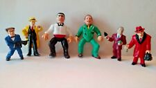Lot of 6 Kenner Dick Tracy Movie Figures Lot Vintage Rare Influence Lips Flattop