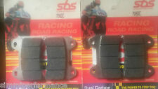 SBS Dual Carbon FRONT BRAKE PADS 706DC