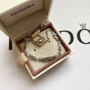 Pandora Silver Sparkling Ice Cubes Bracelet (ALE S925)
