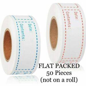 Freezer Food Storage Date Label Content Sticker Kitchen Pantry Label 2.5cm*7.5cm