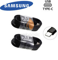 2X OEM Samsung Galaxy S8 S9+ Note 8 Type-C Data Sync Fast Charger Charging Cable