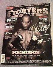 Wanderlei Silva Pride And UFC Legend Signed Magazine Autograph Auto JSA