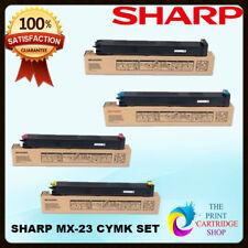 Original Sharp MX23GTBA MX23GTCA MX23GTMA MX23GTYA TONER SET