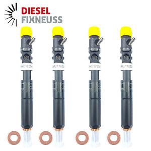4x Einspritzdüse Injektor EJBR01701Z EJBR02101Z Renault Kangoo Clio 1,5 dci
