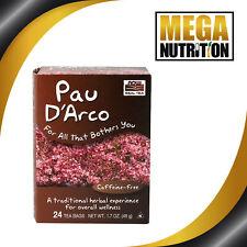 NOW Foods Pau D'arco Tea Bags 24 Bags | Herbal Tea Source of Vitamin A C Calcium