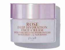 FRESH Rose Deep Hydration Face Cream Moisturizer Travel Size 0.24 oz / 7ml NEW!