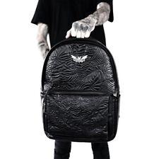 Killstar Gothic Goth Punk Rucksack - Death Rawk Backpack Spinnennetz Fledermaus