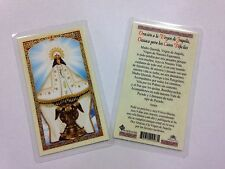 HOLY PRAYER CARDS FOR OUR LADY OF JUQUILA SET OF 2 IN SPANISH FREE SHIP!