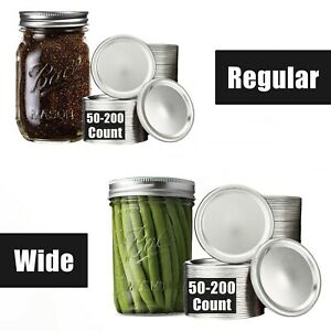 Canning Lids Mouth For Jars Regular Wide 50,100,200 for Jar Ball,Mason In stock