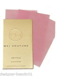 Mai Couture Blush Papier in 4 Shades - Official Stockist - Paraben/Talc Free