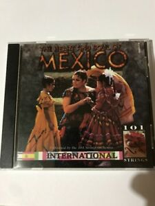 The Heart And Soul Of Mexico Cd  Preformed By 101 Strings Orchestra