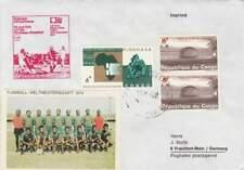 Voetbal envelop: WK Duitsland 1974 / Elftal Congo (voet044)