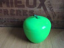 Joli bac à glaçons vintage Pomme verte années 70 Ice bucket déco