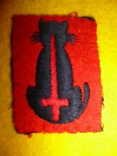56th London Infantry Division Embroidered Formation Patch, British Post WW2 1950