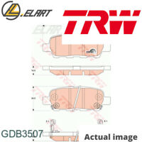 DISC BRAKE PADS SET  FOR NISSAN INFINITI RENAULT FENGSHEN X TRAIL T31 EX TRW