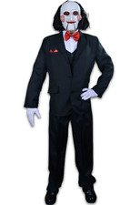 Trick Or Treat Saw Jigsaw Billy Puppet Adult Mens Halloween Costume TTLG109