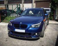 For BMW E60 E61 M Sport Front Bumper spoiler lip chin valance appron splitter