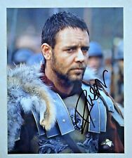 Russell Crowe / Gladiator / Signed 8X10 Celebrity Photo