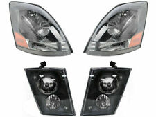 Volvo 2004 2005 2006 2007 VN VNL VNM 630 670 Series HEADLIGHTS FOG LIGHTS SET