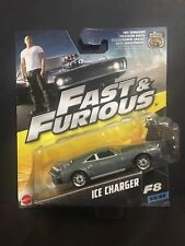 Fast & Furious 1:55 Ice Charger Car F8 23/32