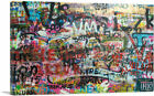 ARTCANVAS Graffiti Overload Canvas Art Print