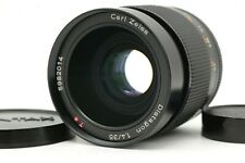 【MINT】 Contax Carl Zeiss Distagon T* 35mm F1.4 AEG CY Mount Wide Lens From JAPAN