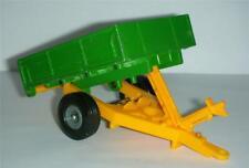 Britains diecast / plastic farm tipping trailer .