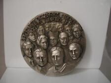 Medalla bronce plateado. Sacerdotes Diocesanos. Mártires Valencianos. Roma, 2001