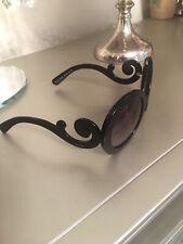 PRADA SPR-27N Black Baroque Swirl Women's Sunglasses 55-22