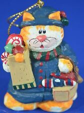Eddie Walker Kitty Cat Retired Midwest Cannon Falls Christmas Ornament