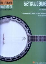 Easy Banjo Solos Songbook Tab Tabulatur