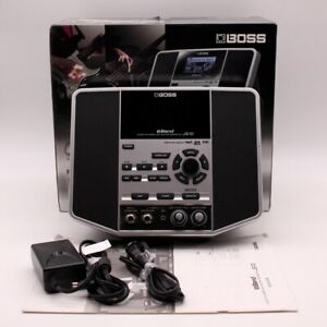 BOSS JS-10 Audio Player With Guitar effects w/Original Box Adapter 4GB SD Card