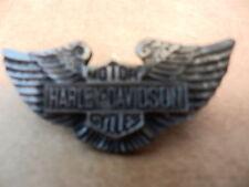 "HARLEY-DAVIDSON MOTORCYCLES METAL PIN, PRE-OWNED,  2"" X 1.75"""