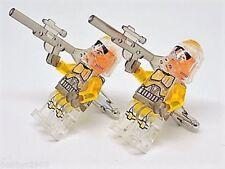 Handmade LEGO® Star Wars Clone Trooper Commander Transparent Cufflinks