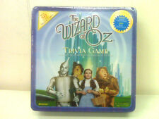 NEW - THE WIZARD OF OZ TRIVIA GAME -METAL CONTAINER - MADE 1999 - COLLECTIBLE