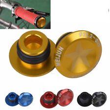Road Bike MTB Mountain Bicycle CNC Aluminum Handlebar End Caps Handle Bar Plugs