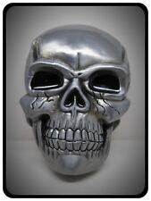 LARGE & Heavy Skull Metal Belt Buckle,Fathers Day,Birthday,Skeleton,Buckle,Metal
