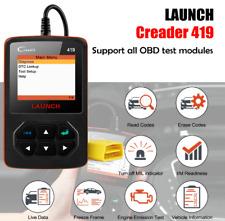 LAUNCH CR419 OBD2 Scanner Fault Code Reader Car Diagnostic Tool PK CR4001 CR319