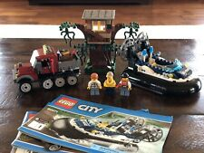 LEGO City Hovercraft Arrest 60071 Complete