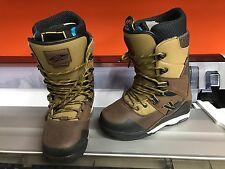 Stiefel Snowboard boot Vans SeQual braun grün US 9 EU 42