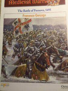 DEL PRADO #31 FRANCESCO GONZAGA THE BATTLE OF FORNOVO 1495 MOUNTED BOOKLET