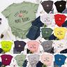 Womens Loose Blouse Shirt Casual Tee Sweatshirt Summer Basic Books Ladies Tops