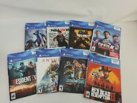 Rare GameStop Display RED DEAD CALL OF DUTY NBA FIFA PS4 Cover Art Only LOT
