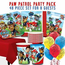 Party Supplies Birthday Decorations Paw Patrol Party Packs 8 Guests 52 Pieces