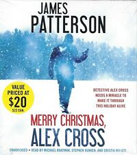MERRY CHRISTMAS ALEX CROSS by James Patterson NEW Unabridged 6 CDs (2012)
