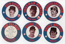 1978 Papa Gino's Pizza AMERICAN LEAGUE ALL-STARS Subset #26-40 with 4 HoF'ers